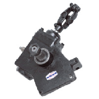 worm and level steering gear