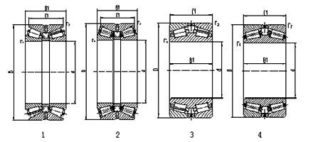 Kết quả hình ảnh cho double taper bearing